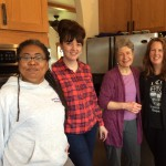 Member Theresa Kimball, Secretary Sara Peté, Members Sherry Sullivan and Marcella Logan Thornburg.