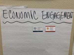 Economic Engagement attendees
